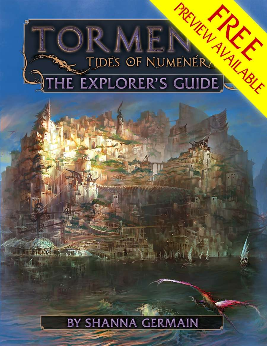 Torment: Tides of Numenera—The Explorer's Guide FREE PREVIEW