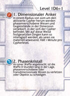 1. Dimensionaler Anker - Custom Card