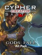 Cypher System Creator Resource - Art Set 1 Gods of the Fall