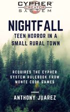 Nightfall (high school supernatural drama with the cypher system)