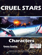 Cruel Stars: Characters
