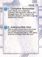 1. Complete Restoration - Custom Card
