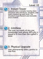 1. Instant Tower - Custom Card