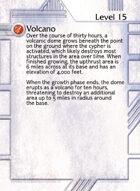 Volcano - Custom Card