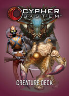 Cypher System Creature Deck