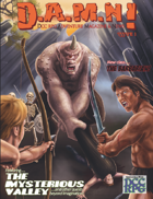 D.A.M.N! Issue 1 - DCC RPG Adventure Magazine and News
