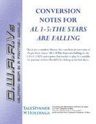 D.W.A.R.Vs Conversion: The Stars are Falling