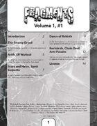Fragments, Volume 1, #1