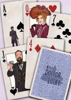 Kill Doctor Lucky Poker Deck (Blue)