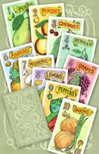 Pairs: Antique Fruit Deck