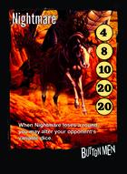 Nightmare - Custom Card