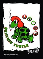 Beatnik Turtle - Custom Card