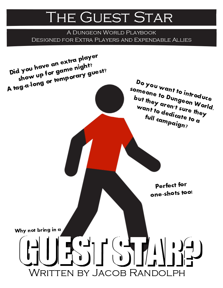 The Guest Star - A Dungeon World Playbook for Extra Players on Game Night -  Liberi Gothica Games | Dungeon World Playbooks | DriveThruRPG com