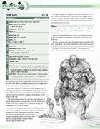 Five Moons RPG Monster Stat Block Preview: Stone Giant