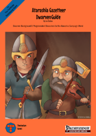 Atarashia Gazetteer - Dwarven Guide