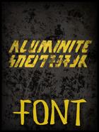 Aluminite Font