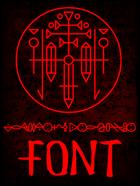 Lexography Daemonia Font