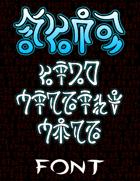 Tzaddon Font
