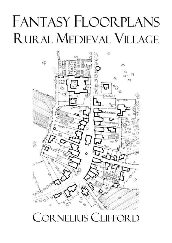 Rural Medieval Village Fantasy Floorplans Dreamworlds