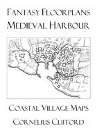Medieval Harbour Maps - Fantasy Floorplans