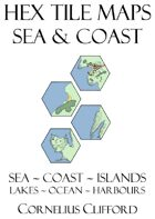 Hex Tile Maps - Sea and Coast Pack