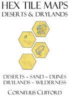 Hex Tile Maps - Desert and Drylands Pack