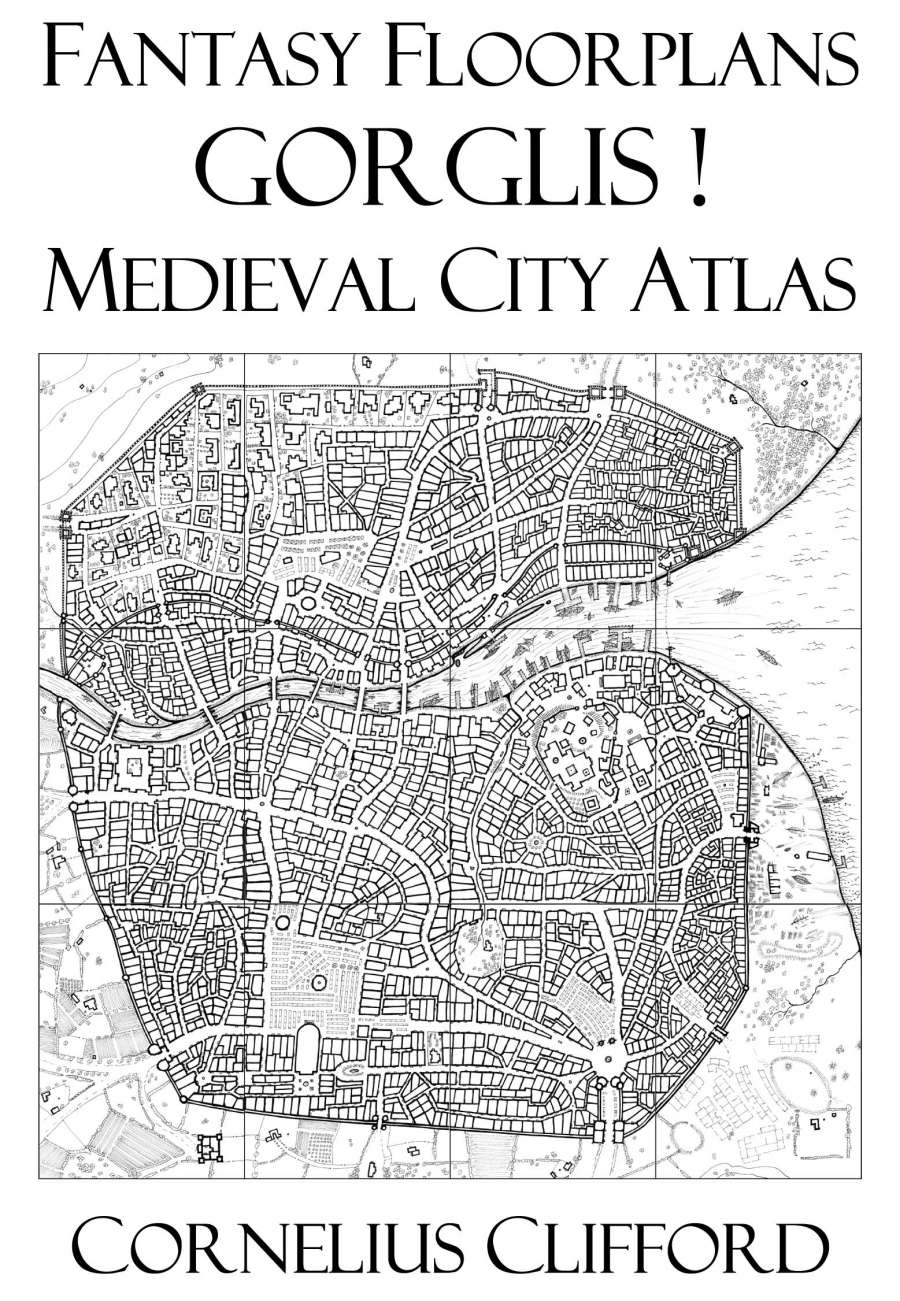 Medieval City Atlas - Fantasy Floorplans - Dreamworlds ...