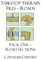 Tabletop Terrain Tiles - Roads