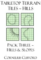 Tabletop Terrain Tiles - Hills & Slopes