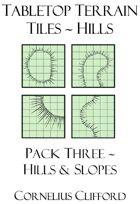 Tabletop Terrain Tiles - Hills & Slopes