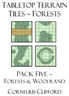 Tabletop Terrain Tiles - Forests
