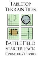 Tabletop Terrain Tiles - Battlefield Starter Pack