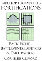 Tabletop Terrain Tiles - Fortifications
