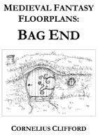 Bag End Floor Plans of a hobbit house