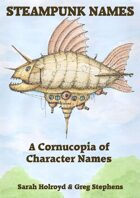 A Cornucopia of Steampunk Characters Names