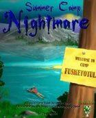Summer Camp Nightmare: Horror Rules Deluxe Script #2