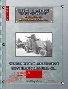 Big Bang Ricochet - WW2 Collection: BA-27 Heavy Armored Car