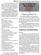 Big Bang Shootout: Stopping Power III: Thorniley Stopping Power