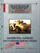 Big Bang Ricochet - Modern War Machines: M1117 Armored Security Vehicle