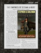 D6xD6 RPG Empires of Steam & Rust World Setting
