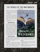 D6xD6 RPG The Watershed World Setting