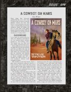 D6xD6 RPG A Cowboy on Mars World Setting