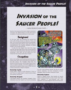 D6xD6 Invasion of the Saucer People