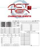 Act Ten Character Sheet