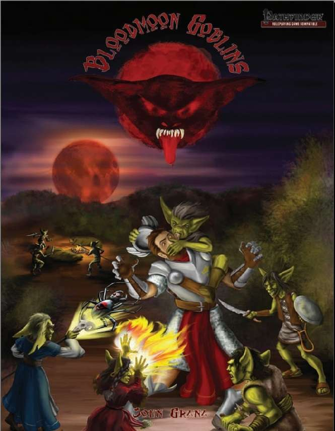 Cover of Bloodmoon Goblins