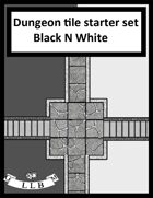 Dungeon Tile starter set Black n White free sample