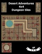 Desert Adventures 4x4 Dungeon Tiles