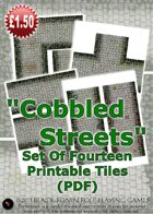 Printable Cobbled Streets #1 (PDF)