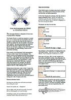 The Sunken Tavern - An OD&D 1-page adventure