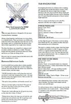 The Roadside Shrine - An OD&D 1-page adventure